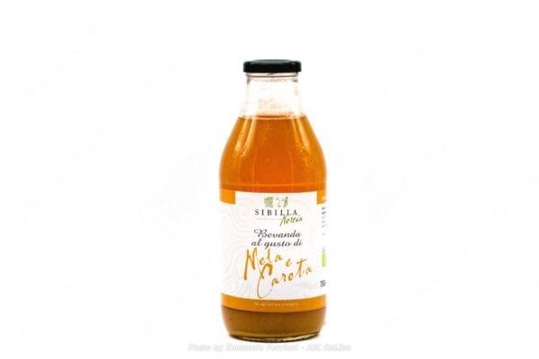 Bevanda alla mela e carota bio 750g