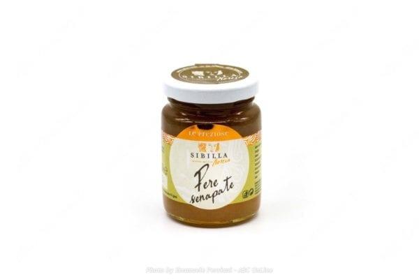 Salsa dolce pere senapate 110g