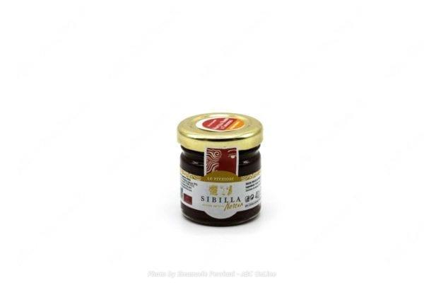 Salsa dolce mirtillo rosso e ginepro 40g